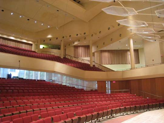 Pick Staiger Concert Hall interior