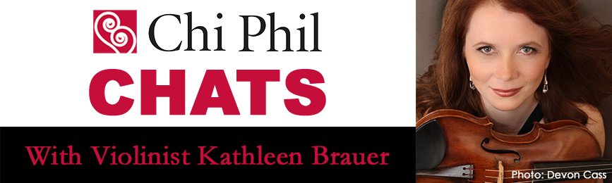 Chi Phil Chats - Kathleen Brauer